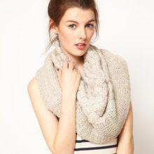 Шарф снуд – узнаем у модных блогеров с чем его носить