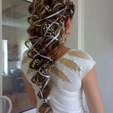 Свадебные прически в греческом стиле
