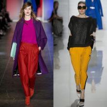Модные брюки осень-зима