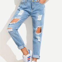 Узнай прямо сейчас с чем носить голубые джинсы