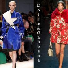 Модные пальто весна 2014