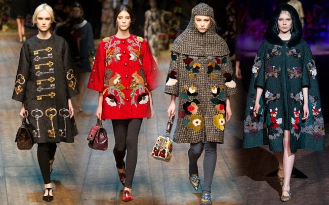 Dolce&Gabbana осенб-зима 2014-2015