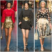 Горошек – модный принт весна-лето 2014