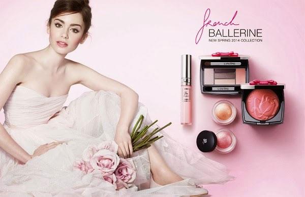 Lancôme French Ballerine Spring 2014 Makeup Collection