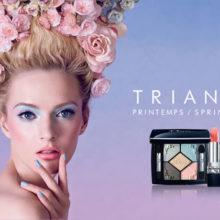 Весенняя коллекция макияжа от Dior Trianon весна 2014