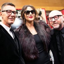 Dolce & Gabbana и Моника Беллуччи на открытии корнера в Москве