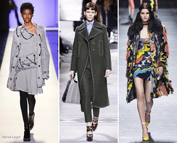 модные тенденции осень зима 2016 2017 - стиль милитари