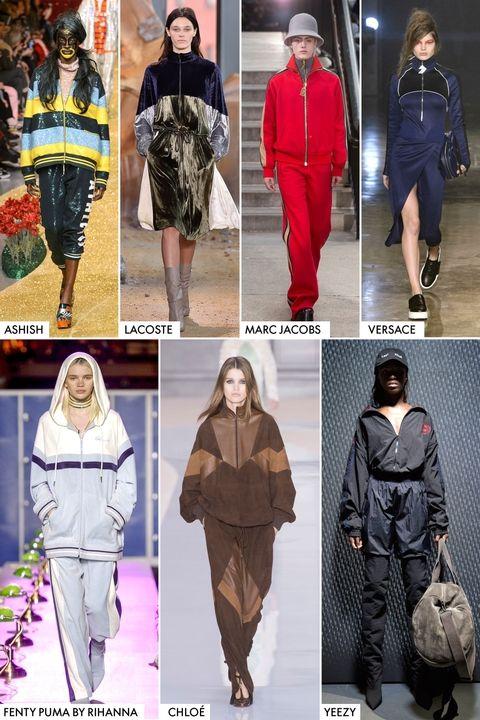 Модные тренды осень-зима 2017-2018 - спортивные костюмы
