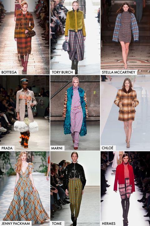 модные тенденции осень-зима 2017-2018 - мода 70-х