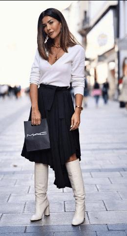С чем носить ботфорты, как их выбрать и сочетать