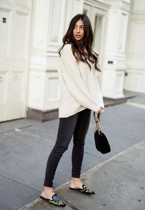 Мюли - 5 модных идей с чем носить модную обувь