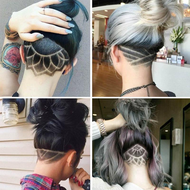 Карвинг волос - что это такое и как его делают