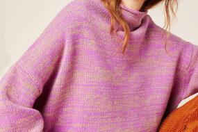 Must have месяца – вязаный свитер.