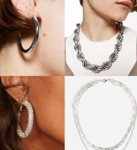 фотография модные серьги браслеты кольца