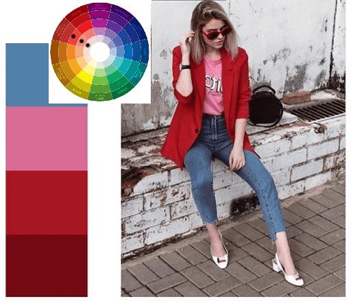 как правильно пользоваться кругом Иттена в одежде