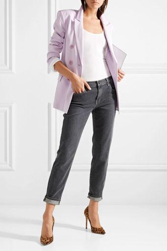 Советы как выбрать и с чем носить джинсы бойфренда