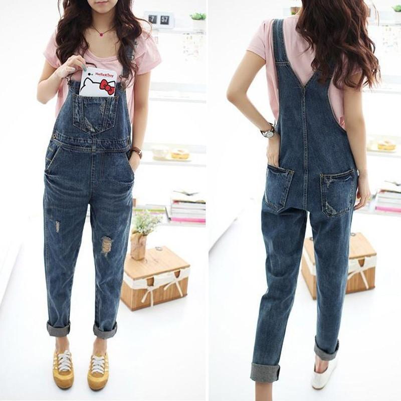 фото модные джинсы бойфренды для беременных комбинезон на подтяжках