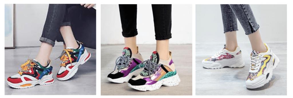 фото модные кроссовки лето весна 2020 2021