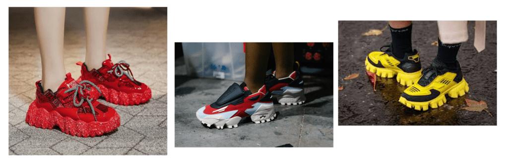картинка модные кроссовки тренд 2021