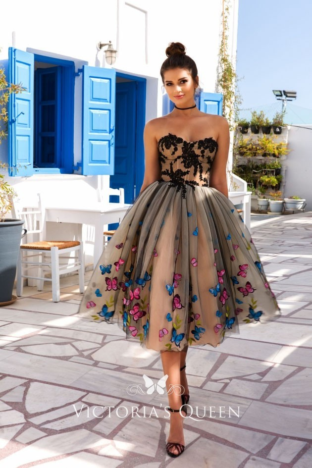фото выпускное платье пышное короткое 2020 2021