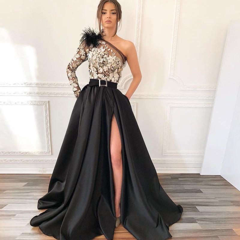 фото платье на выпускной длинное