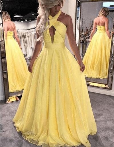 фото платье на выпускной с открытой спиной