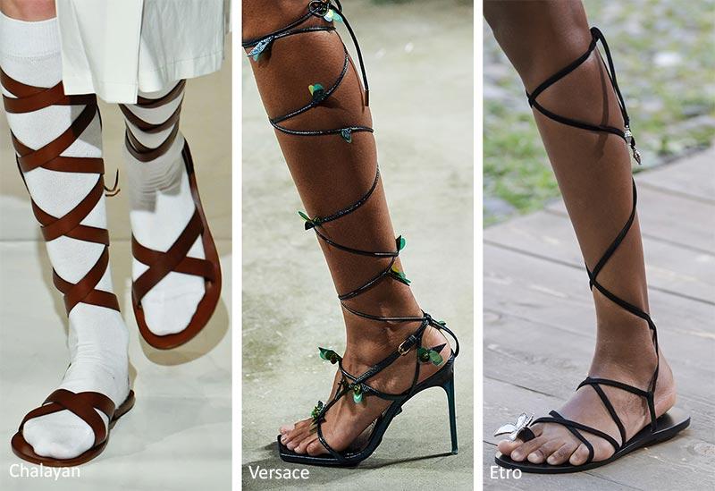 фото гладиаторская обувь сандалии босаножки гладиаторы