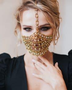 фото маска как сшить своими руками выкройка