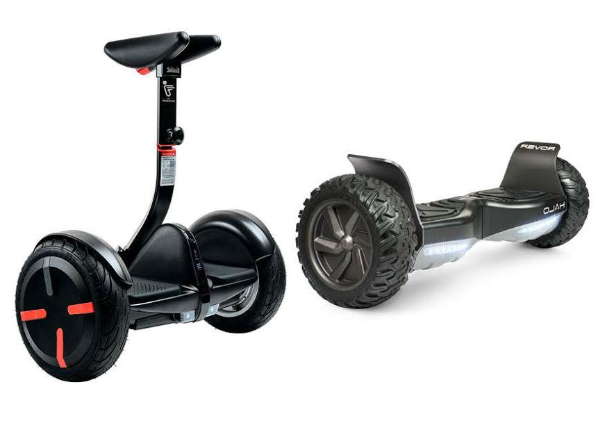 Чем отличается гироборд от гироскутера (сегвея) и что лучше выбрать?