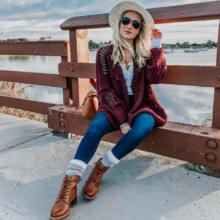С чем носить женские ботинки на шнуровке: модные луки и сочетания