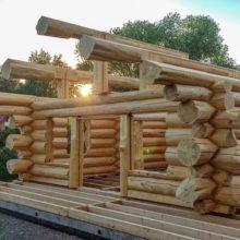 Постройка деревянных домов