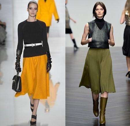 Самые модные юбки осень зима 2013 2014