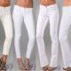 С чем носить белые джинсы: советы и фото