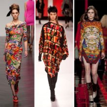 Модные принты осень-зима 2013-2014 фото