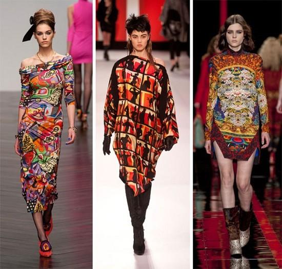 модные принты 2013-2014