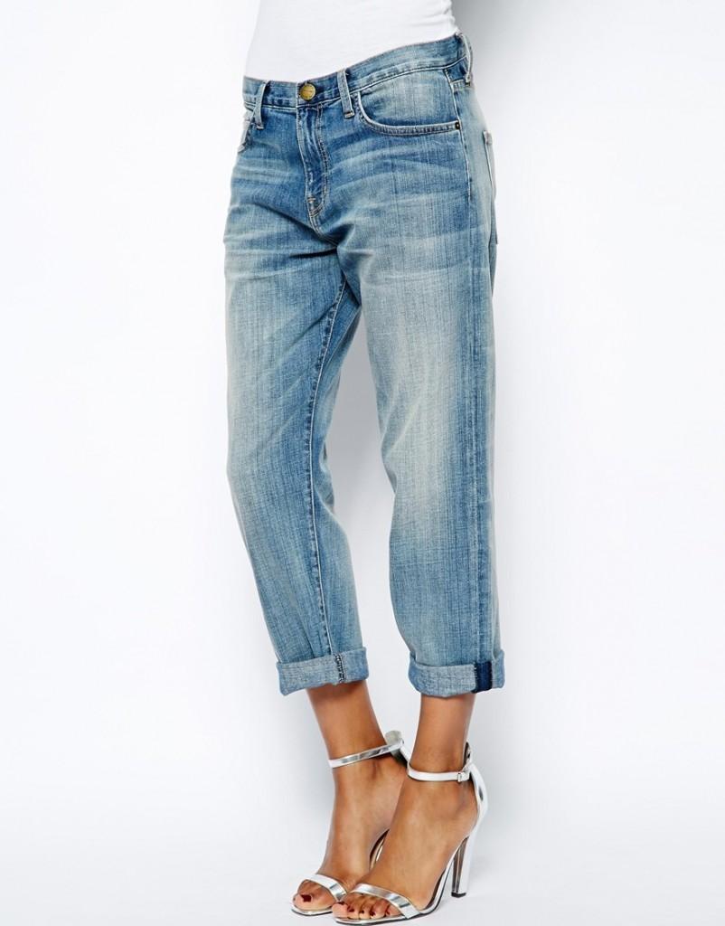 Потертые джинсы бойфренда Current Elliot