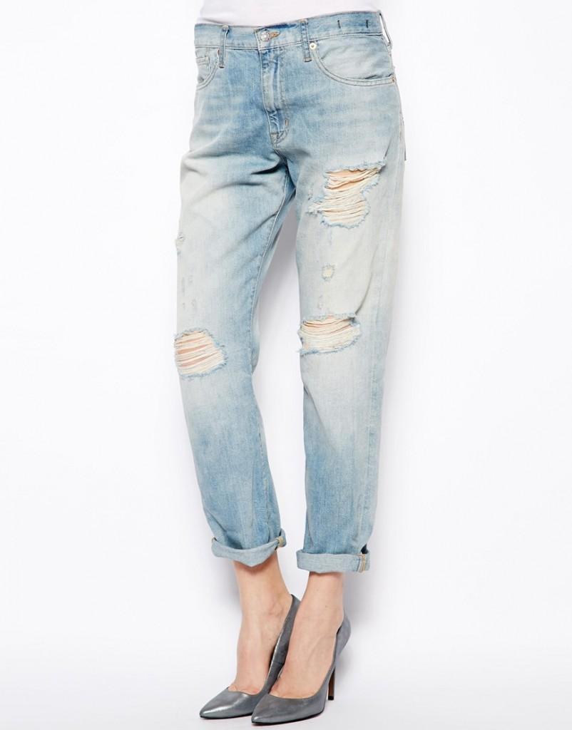Рваные джинсы бойфренда Denim & Supply By Ralph Lauren