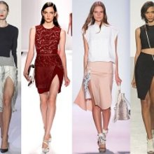 Модные юбки весна-лето 2014