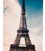 чехол для Iphone розовый Париж