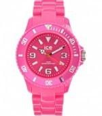 розовые часы Ice