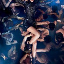 Beyonce в Tom Ford из коллекции весна 2014