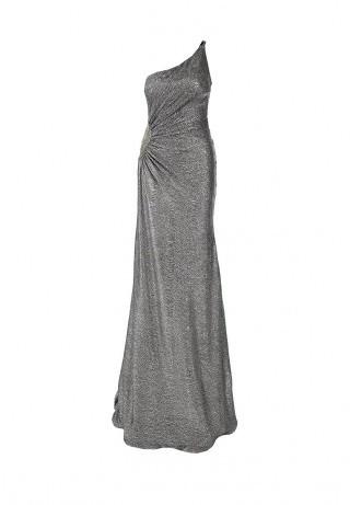 Corleone длинное платье металлик на выпускной
