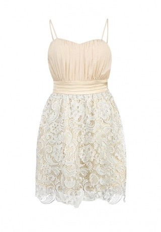 La Coquette кружевное платье на выпускной