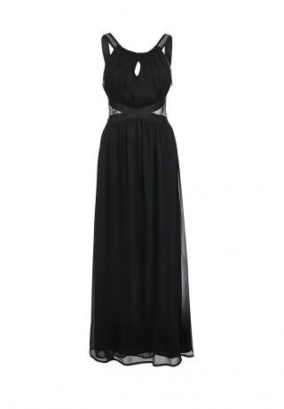 Savage длинное черное платье нв выпускной