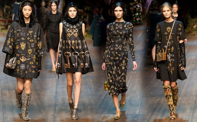 Dolce and Gabbana fall 2014-2015