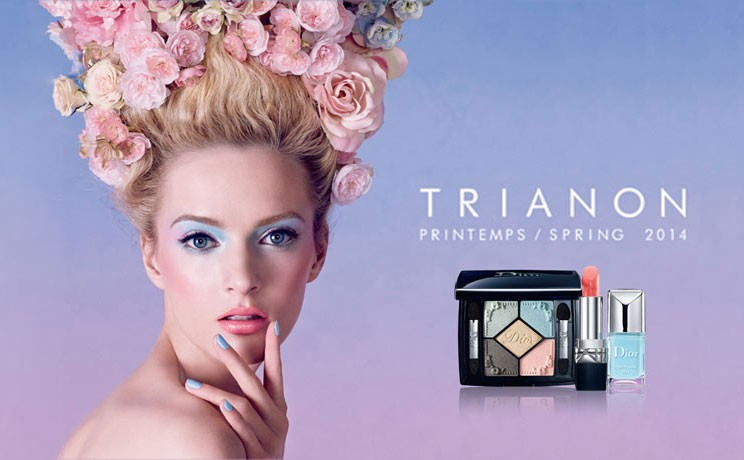 dior trianon makeup collection spring 2014