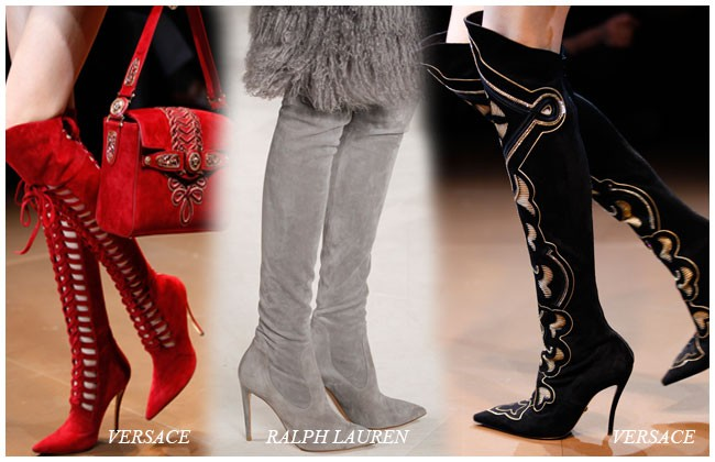 модные ботфорды осень-зима 2014-2015