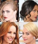 модные цвета волос 2014