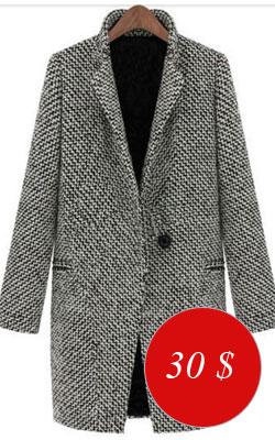 Пальто серое - купить всего за 29,80 $