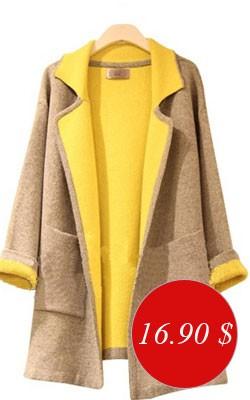 Шерстяное пальто на осень - Цена всего 16,90 $